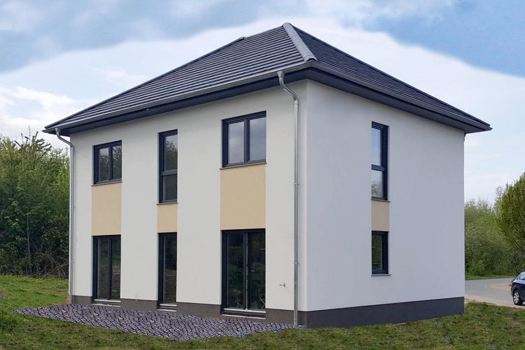 Stadtvilla 130 qm  Stadtvilla SL 130 - ARGON Hausbau